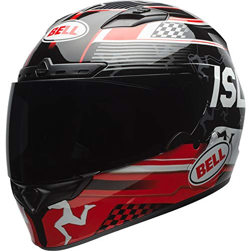 BELL Helmet qualifier dlx mips isle of man black/red l