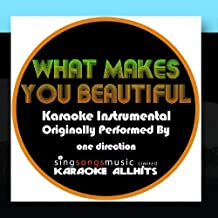 What Makes You Beautiful Originally Performed By One Direction  Audio Instrumental
