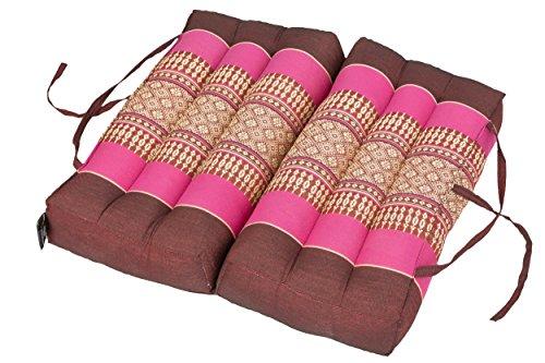 Cuscino pieghevole 40x40 per relax, meditazione o yoga