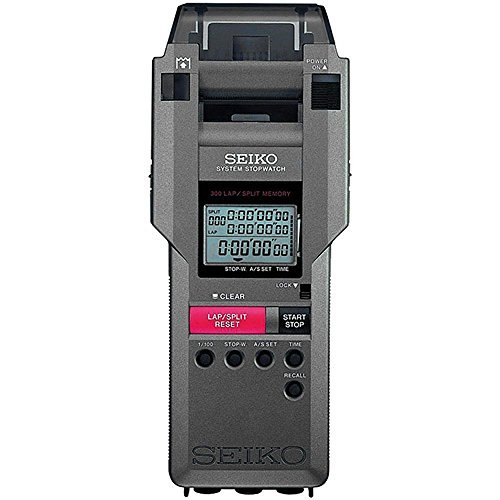 300 Lap Memory Stopwatch w Printer System by Seiko Timers