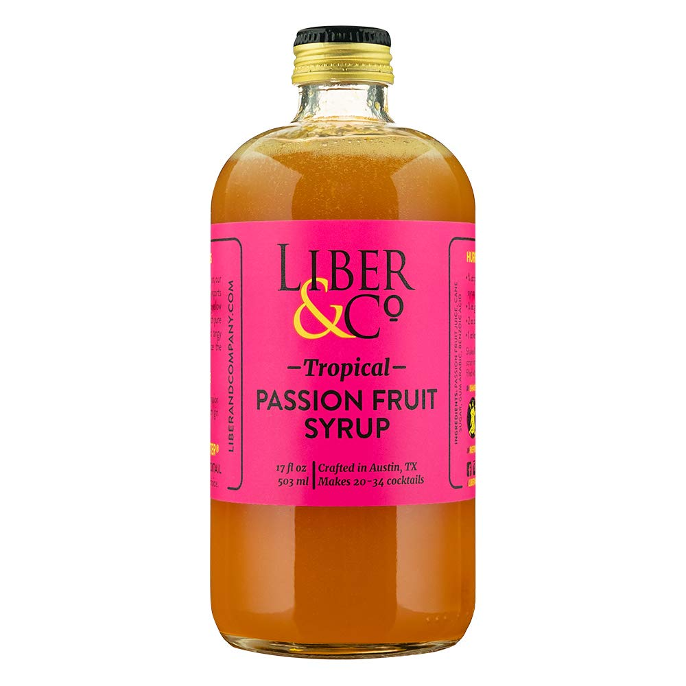 Liber & Co. Tropical Passion Fruit Syrup (17 oz)