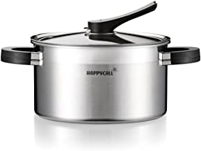 Happycall Stainless Steel Source Pot, 2.6qt