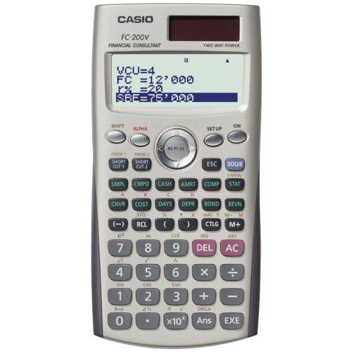 Calculadora financiera Casio FC-200