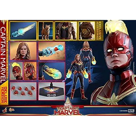 Hot Toys 1//6 MMS522 Captain Marvel Deluxe Version Head Sculpt