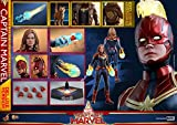 Hot Toys Avengers Movie Masterpiece Series MMS 522 Captain Marvel (Deluxe Version) 1/6 Sixth Scale Collectible Action Figure