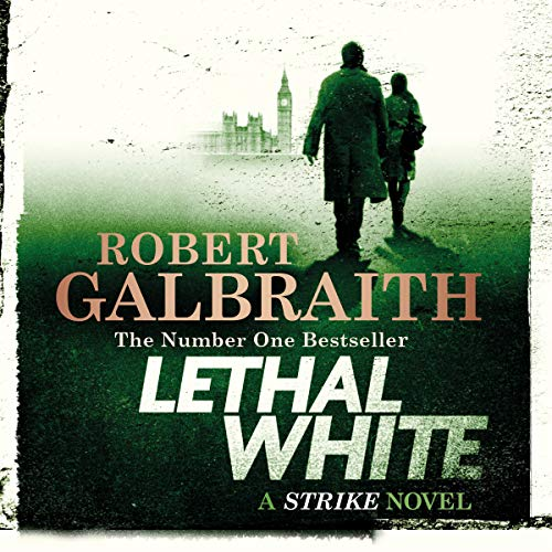 Lethal White audiobook cover art