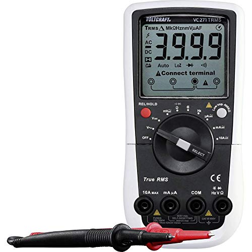 Voltcraft VC-271 Hand-Multimeter digital CAT III 600V Anzeige (Counts): 4000