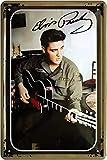 Blechschilder Elvis Presley Guitarra U.S Army Celebrities Decoración Cartel Cartel...