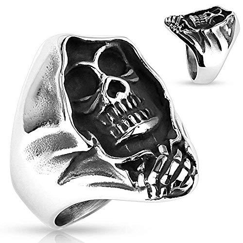 Covet Jewelry Grim Reaper Stainless Steel Rings (14)
