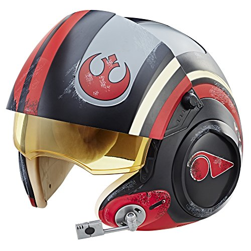 Star Wars The Black Series Episode VIII - Les Derniers Jedi Casque de Poe Dameron X-Wing Pilot Deluxe