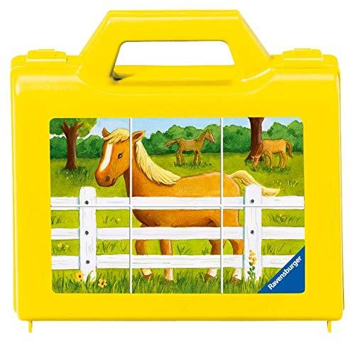 Ravensburger Kinderpuzzle 07463 - Mein Bauernhof - 6 Teile Würfelpuzzles