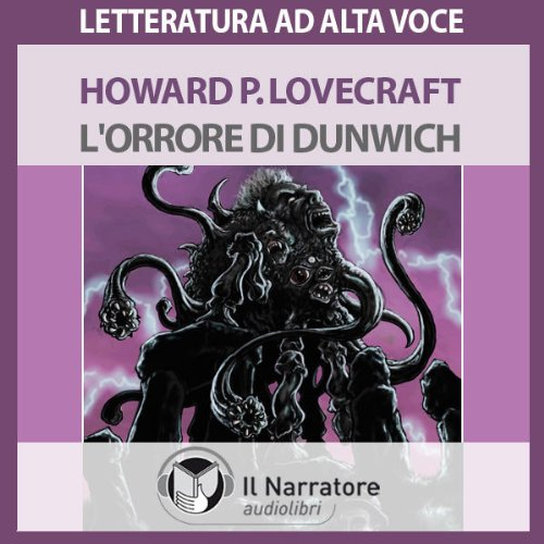 L'Orrore di Dunwich audiobook cover art