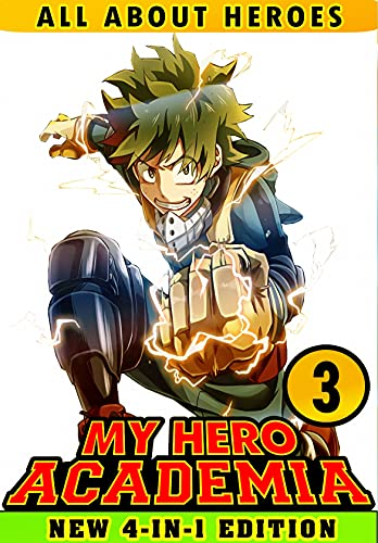 About All My Hero: Book 3 Collection - Manga Action Shonen Adventure Fantasy Academia For Young Fans, Children, Kids (English Edition)