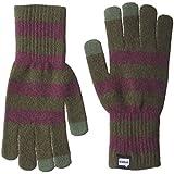 [エヴォログ] 手袋 LET 2314 メンズ KHAKI×WINE 日本 Free-(FREE サイズ)