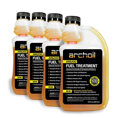 Archoil AR6200 Fuel Treatment Four Pack - 4 x 16oz Bottles - Treats 2,000 gallons of Fuel