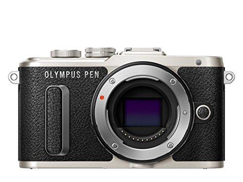 "Olympus Pen E-PL8 - Cámara Evil de 16 MP (Pantalla táctil abatible de 3"", estabilizador, vídeo FullHD, WiFi) Negro"