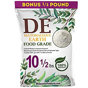 EasyGoProducts Diatomaceous Earth - 100% Natural Food Grade - DE Fresh Water – 10.5 Pounds