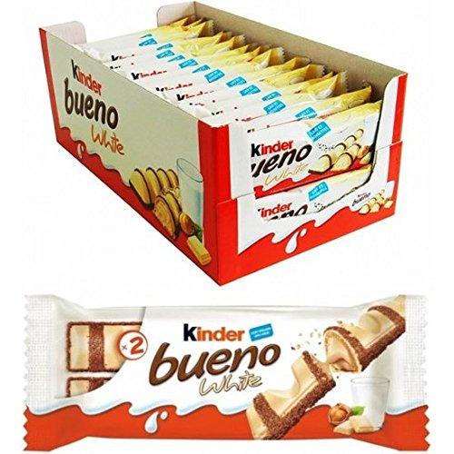 KINDER BUENO BLANCO 2 BARRITAS 43 GR - CAJA DE 30 UDS