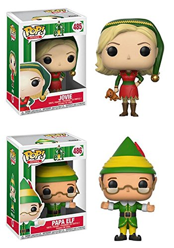 Funko POP! Elf: Jovie + Papa Elf – Stylized Christmas Movie Vinyl Figure Set NEW
