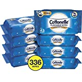 Cottonelle FreshCare Flushable Wipes for Adults, Wet Wipes, Alcohol Free, 336...