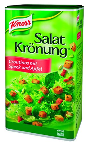 Knorr Salat Krönung, Croutinos mit Speck und Apfel 935, 1er Pack (1 x 700 g)