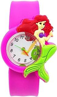 Orologio Bambino XYBB Pretty Mermaid Watch Regalo per bambini Orologio analogico al quarzo per bambini Orologio impermeabi...