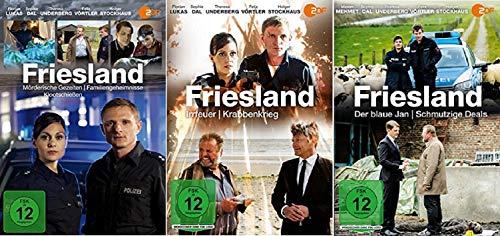 Friesland 7 Filme Paket u.a. Mörderische Gezeiten [DVD Set]