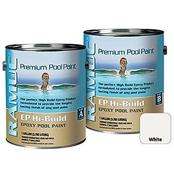 Republic Powdered Metals Type EP Hi Build Epoxy Pool Paint 2 Gallon White