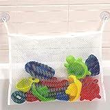 Easy-topbuy Baby Badewanne Netztasche, Wandbehang Spielzeug Aufbewahrungstasche Mesh-Organizer, Strapazierfähiges Spielzeug, Saubere Tasche Badorganisator, Einfach Zu Befestigen