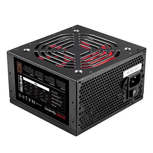 Mars Gaming MPB750, Alimentatore per PC 750W, 80Plus Bronze 230V, Silenzioso