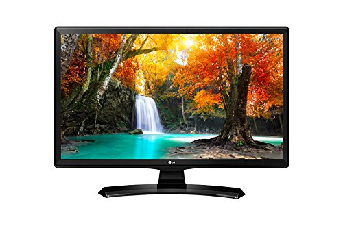 "LG 24MT49S-PZ - Monitor TV de 24"" (60 cm, Smart TV LED HD, 1366 x 768 Pixels, Modo Cine, Modo Juego), Color Negro Brillante"