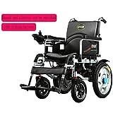 Silla de ruedas eléctrica, peso ligero, silla de ruedas electrica plegable,coche eléctrico para personas mayores, scooter para personas mayores con cuatro ruedas inteligente,A,Silla de ruedas