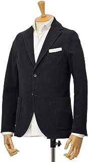 [CIRCOLO 1901【チルコロ】]ジャージージャケット カシミヤタッチ 9204A233001 001 コットン ブラック