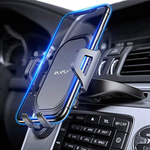 CD Slot Car Phone Mount RAXFLY Universal 360° Rotation CD Player Car...