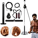 ABORON Pulley Cable Gym, LAT Pull Down Pulley System, for Triceps Pull Down, Biceps Curl, Back, Forearm, Shoulder
