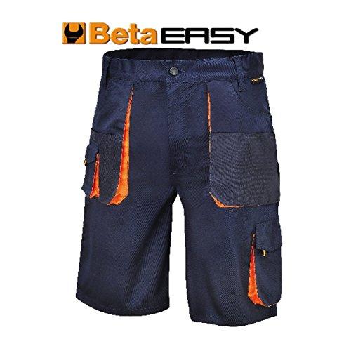 Beta Tools 78710903 BERMUDA EASY TWILL 180GR BLUE TG.L, Blu, L mm