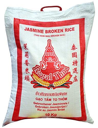 [ 10kg ] ROYAL THAI Bruchreis mit Jasminduft / Jasmin Broken Rice