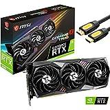 MSI GeForce RTX 3080 Gaming X Trio Graphics Card, 10GB GDDR6X, Ray Tracing, VR Ready, Tri Frozr 2 Thermal Design, 3X DisplayPort, 1x HDMI 2.1 8K, Mytrix HDMI Cable