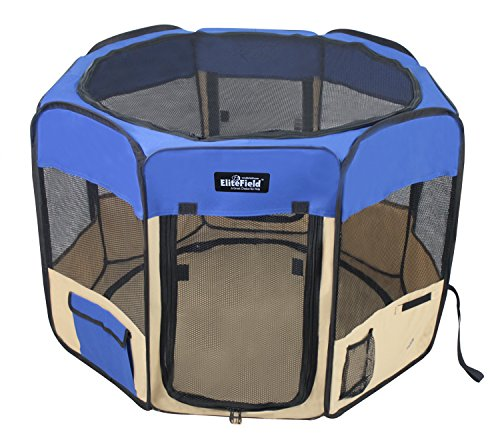 EliteField 2-Door Soft Pet Playpen