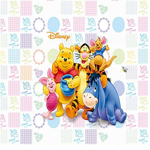 Alfombra Sala De Estar Dormitorio Mesita De Noche Rectangular Dibujos Animados Anime Winnie The Pooh Mesa De Centro Juego Para Niños Estera Decoración Del Piso Del Hogar Encantador Antideslizante