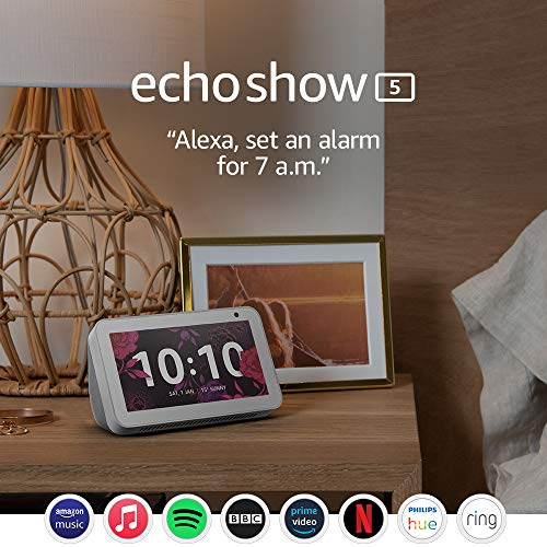 Echo Show 5 – Stay in touch with the help of Alexa, White