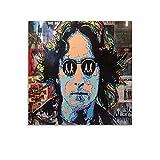 ASDFWQW ALEC Monopoly John Lennon Poster dekorative Malerei