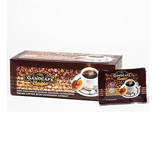 GANO EXCEL GANOCAFE CLASSIC lackporlinge Healthy Coffee 1Box/30Sachets 90g.