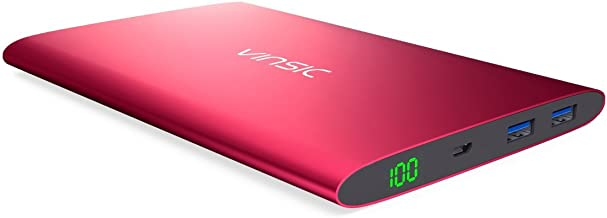Best vinsic 20000mah dual usb power bank Reviews