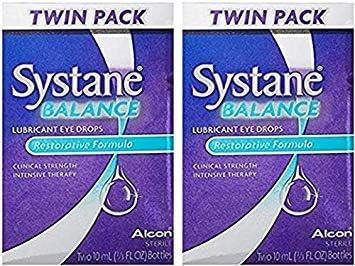 Systane Balance マーケット Lubricant Eye Restorative 売買 Formula. Two Drops