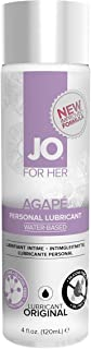 System Jo Women's Agape Lube No Glycerine/oil/silicone - 4 Oz by System Jo International