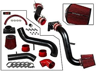 RTUNES RACING - BLACK - COLD AIR INTAKE FOR 2000-2005 MITSUBISHI ECLIPSE MITSUBISHI 00-05 ECLIPSE / 99-03 GALANT 2.4L & 3.0L / 01-05 CHRYSLER SEBRING 3.0L V6 / 01-05 DODGE STRATUS COUPE 2.4L & 3.0L