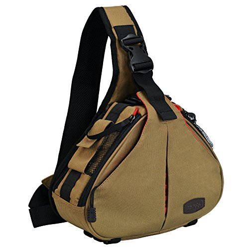 CaDen Camera Bag Sling Backpack
