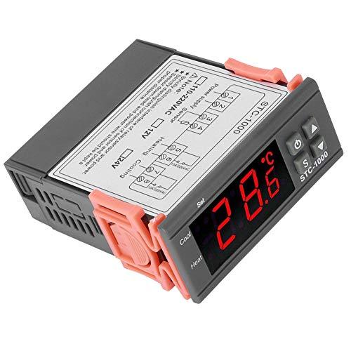 Controlador De Temperatura Interruptor Máquina De Acuario, Pantalla Digital Electrónica Microordenador AC110~220V