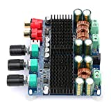 50W * 2 + 100W 2.1 Canales Subwoofer Estable TPA3116 Mini Ajustable Pure Sound 12-26VDC Placa de amplificador de potencia de audio digital para altavoz de 4-8 Ohms Componente de audio